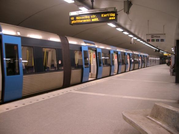 T-Centralen_Tunnelbana_Hässelby